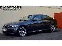 2007 BMW 335D M SPORT AUTO 88K NATIONWIDE DELIVERY, WARRANTY, MINIMUM £200 PART EX, BARGAIN PRICE,