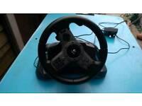 Ps3 Logitech Driving Force Wireless Steering wheel
