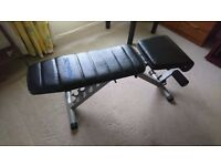 REEBOK flat/incline/decline multi angle Workout bench, from smoke and pet free home, must go ASAP
