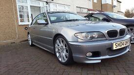 BMW 330ci, Coupe, E46, M Sport, Manual, 2004 Facelift model, 98k miles, FSH
