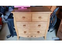 NEXT Girls wood chest of drawers