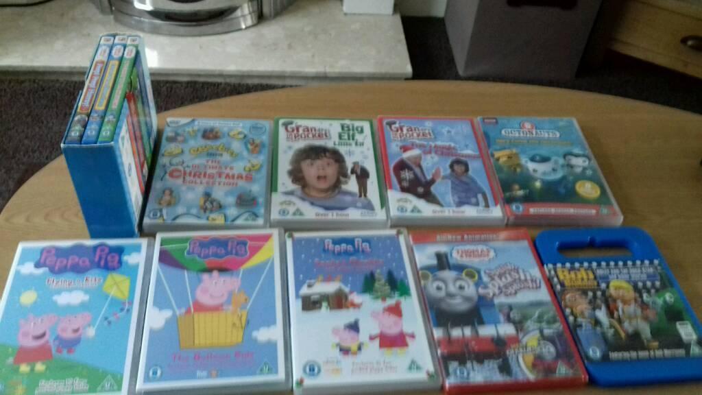 Kids DVD'S (Peppa pig, Thomas, grandpa in my pocket etc )