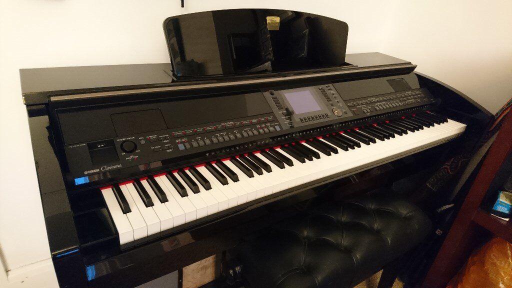 Yamaha clavinova cvp 430 pre owned digital piano in gloss for Yamaha mini grand piano price