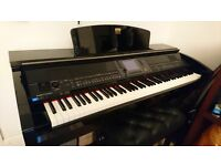 Yamaha Clavinova CVP-430 Pre-Owned Digital Piano in Gloss Black