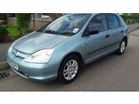 2003 Honda Civic 1.6 petrol