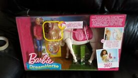 Brand new barbie dream horse