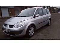 7 SEATER RENAULT GRAND SCENIC 1.6 MANUAL IN EXCELLENT CONDITION. LONG MOT. SERVICE HISTORY. 1 OWNER