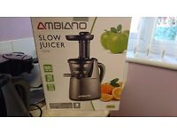 slow juicer boxed used only the once quality item