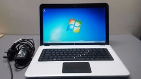 HP Pavilion dv6 laptop/ White colour in Mint condition/ 15.6 Inch screen