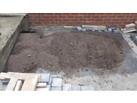 Top Soil - Good dark loam; Around 8 wheel barrows full. Free for collection