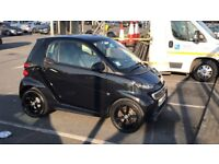 Black Smart FORTWO Grandstyle Plus Edition