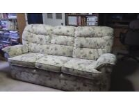 3 seater sofa in excellent condition - very comfortable. Viewing welcome.