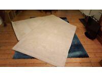 Matching Rugs - Cream - Wool Pile