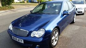 Mercedes Benz C200 Full service history, full leather