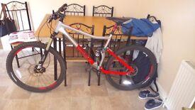 Full suspension vodoo canzo mountain bike