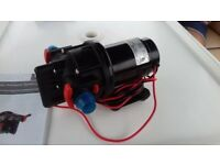 Johnson 2.9 12 volt freshwater pump. Purchased March. Under guarantee.