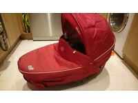 Bebe Confort Moses Basket Windhoo - travel basket, car seat and bed