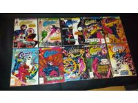 AVAILABLE IF LISTED. JOBLOT. 63 COMICS. New Sleeves. Runs. THE COMET, THE WEB etc. PICS and LIST