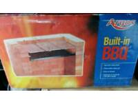 Built in BBBQ set