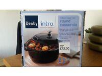 Denby Cast iron Round Casserole Dish