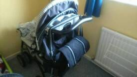 GRACO PUSHCHAIR AND BAG