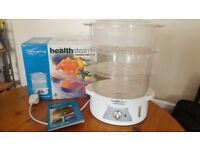 Morphy Richards 3 tier electric steamer