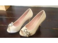 Harriet Wilde brand new designer bridal wedding shoes