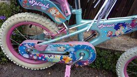 Girls bike for sale 14inch £40