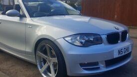 BMW 120se CONVERTIBLE 1 SERIES FSH