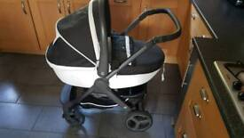 REDUCED almost new Chicco Pram & car seat bundle