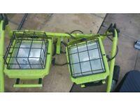 *Power Light* Large Garden / Construction Lights £20