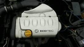 Vauxhall vectra b engine n box
