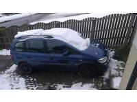 2002 Vauxhall Zafira 1.8 Auto for Spares/Repairs