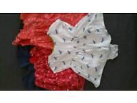 6-9 months girls clothing bundle