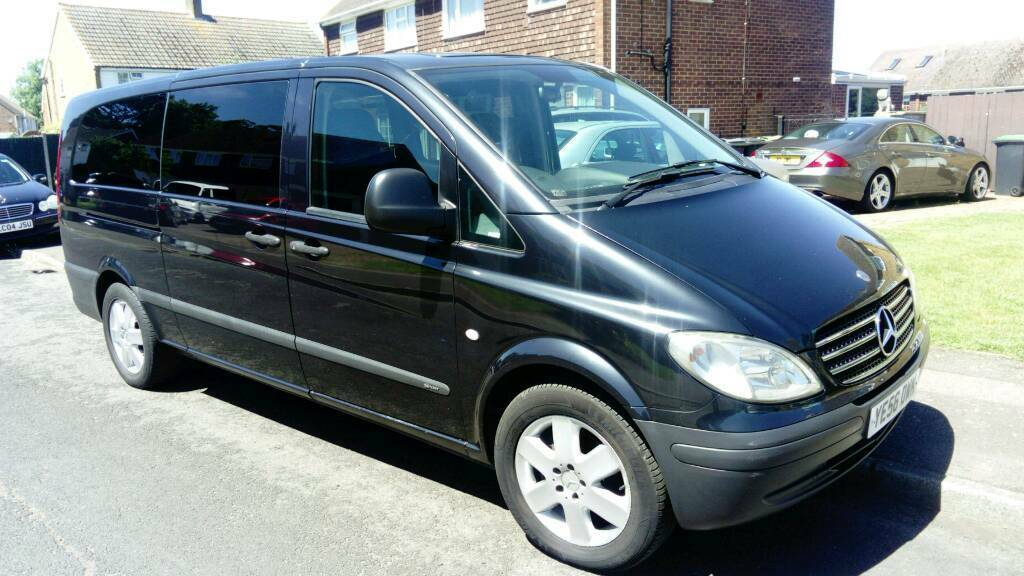 Mercedes Vito Amg Sport Auto 8 Seater Mini Bus In Aylesford