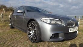 Lovely BMW 520d M Sport Touring, reliable and a real head turner!