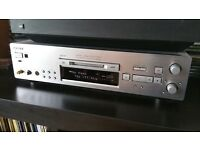 SONY MDS-JB980QS Mini Disc Player/Recorder Remote Manual + FREE Sony Premium Blank MDs - TOP UNIT