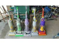 Job Lot of 6 Dyson upright vacuum cleaners