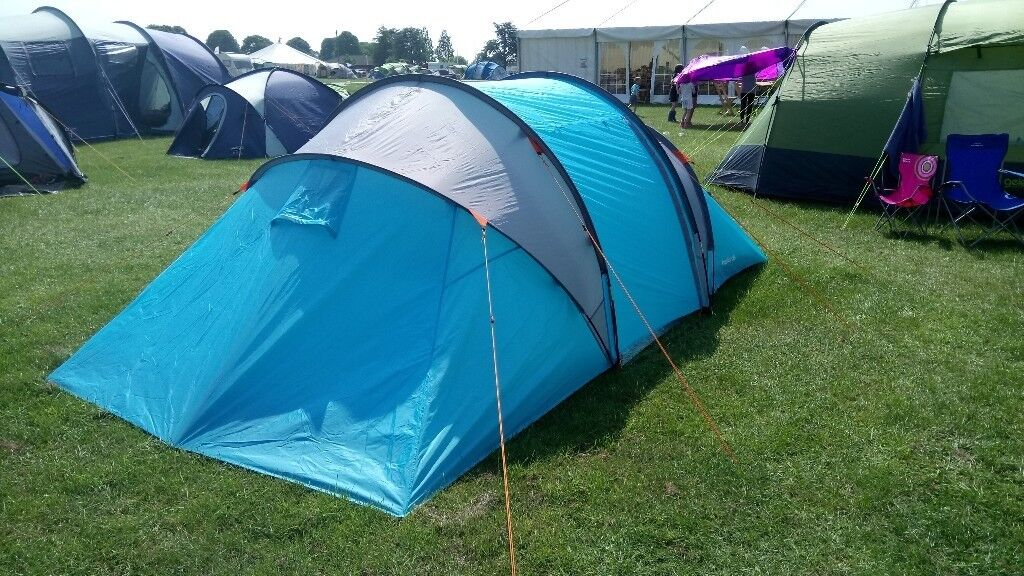 4 man Halfords tunnel tent