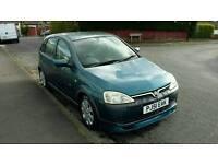 2001 Vauxhall Corsa 61500 milage