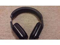 MONSTER Inspiration Black Active Noise Cancelling Over-Ear Stereo Headphones