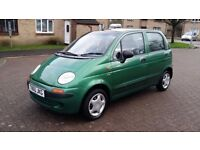 99 DAEWOO MATIZ 0.8 SE --- Super-low 45k! 1 owner!, 58mpg and IMMACULATE CONDITION ---