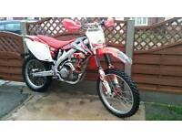 Honda crf 450 2008