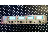 2 x Focusrite Liquid 4 Pre 4 channel microphone preamplifier mic preamp Neve API Manley Telefunken