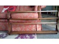 Ercol plate and display rack