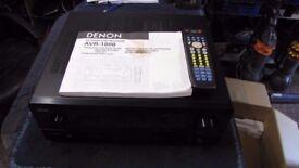 DENON AVR 1800 A/V SURROUND RECEIVER