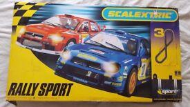 Scalextric Rally Sport set - like new