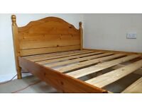 DOUBLE BED FRAME ( WOODEN )