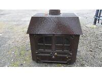 multifuel stove wood burner