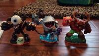 Skylanders Spyros adventures and Skylander Giants